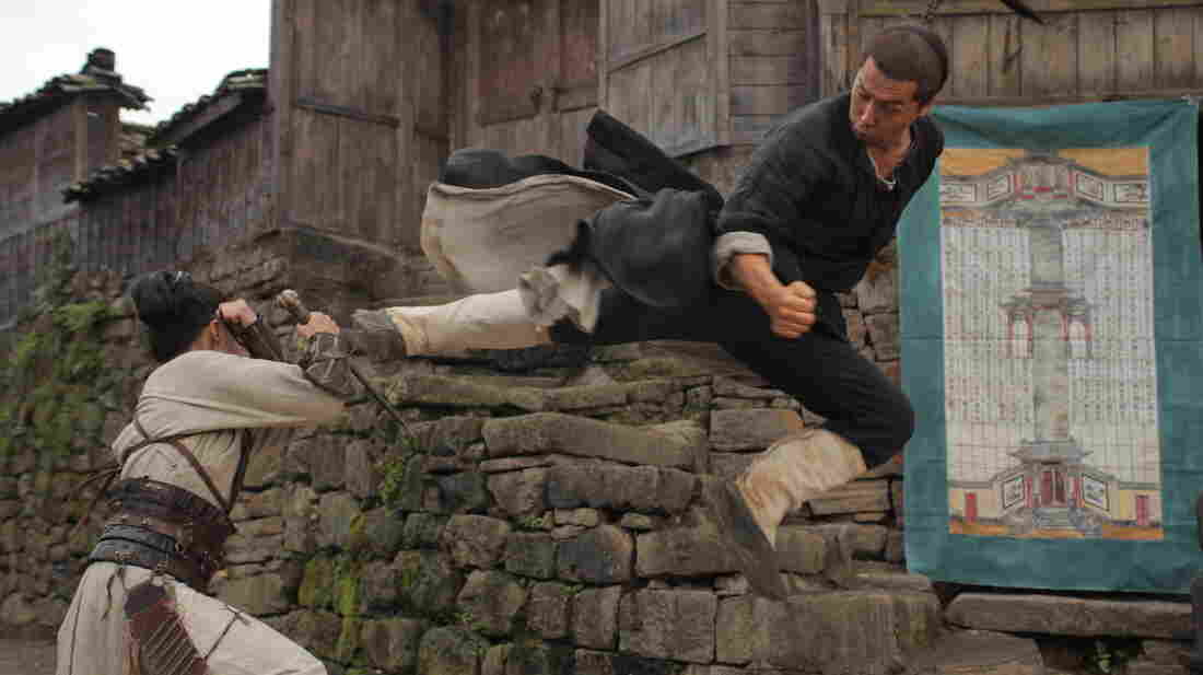 Donnie Yen stars as Liu Jinxi, a quiet mountain-village family man who turns out to have a complicated past, in Dragon.