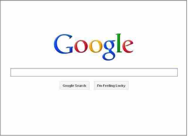 Google page.