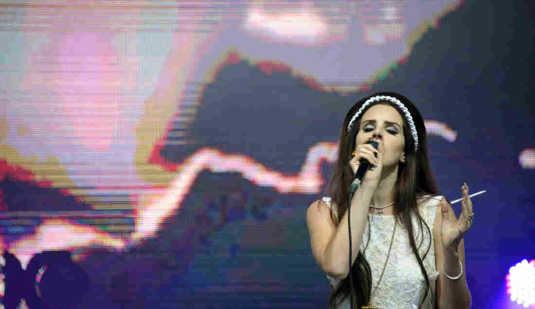 Lana Del Rey performs in France in July. Her album, Born To Die, came out in January, to mixed reviews.