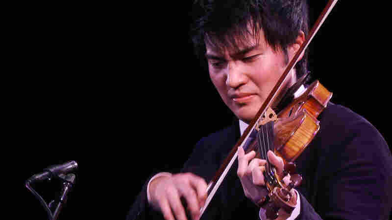 Ray Chen performs at Le Poisson Rouge in New York City Tuesday, Feb. 7.