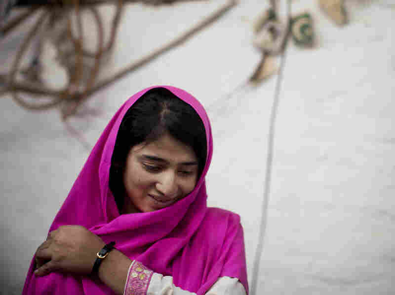 """""""All the girls started crying and shouting, and we tried to lift Malala, to help her, to get her out of the van,"""" Shazia Ramazan says."""