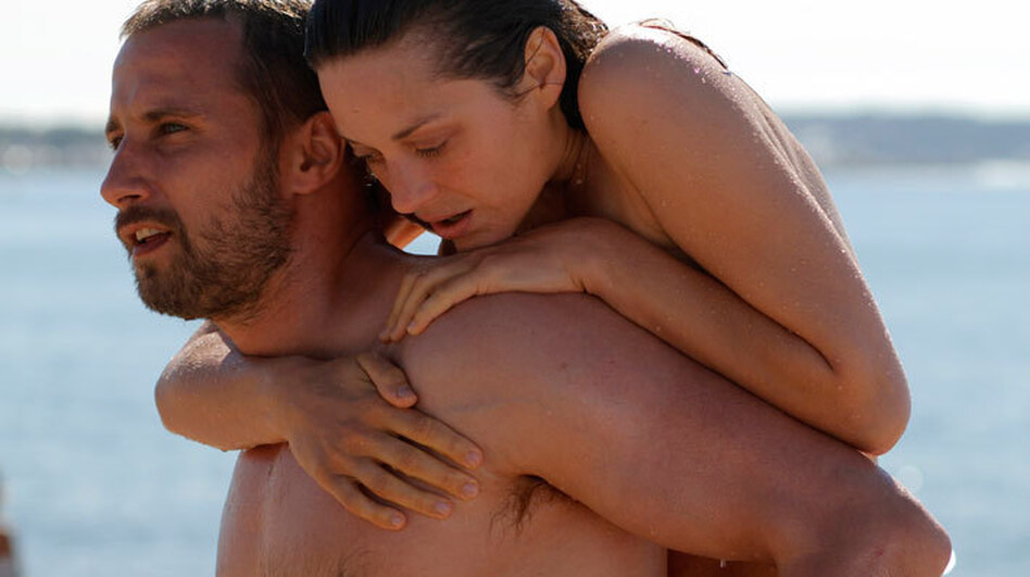 Cotillard's traumatized Stephanie and the equally troubled Alain (Matthias Schoenaerts) meet shortly before her accident, and go on to develop a deep bond. (Sony Pictures Classics)