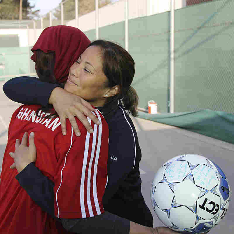 Afghan Women Make Their Mark On The Soccer Field