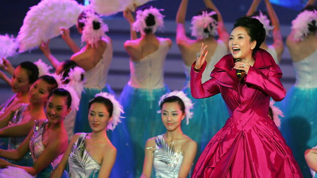 A famous singer, a major general in the army and an AIDS activist, Peng Liyuan is expected to take on yet another role soon: first lady of China. Peng has been married for more than two decades to Xi Jinping, China's newly anointed leader. (Xinhua/Landov)