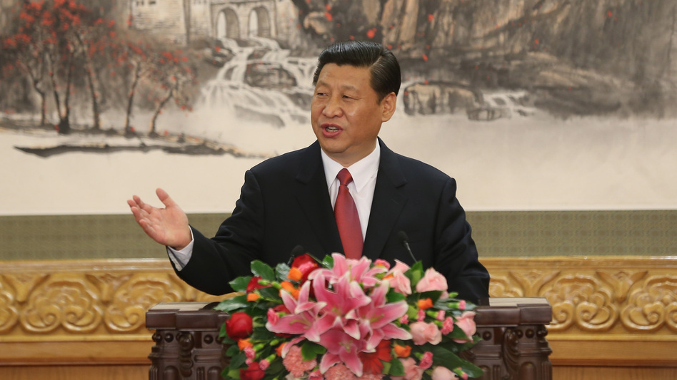 Peng's husband, Xi Jinping, assumed the top leadership post in China's Communist Party earlier this month and is expected to become the country's president next year. The two met in 1986, when she was already a star and he was a deputy mayor. (Getty Images)
