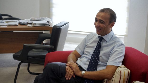Fikri Toros, a Turkish Cypriot businessman, says his family's company struggled for years because of embargoes and a weak Turkish lira. But its fortunes have improved with Turkey's economy. (NPR)