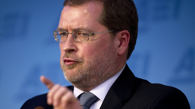 Grover Norquist, founder of Americans for Tax Reform and the man behind the pledge. (AFP/Getty Images)