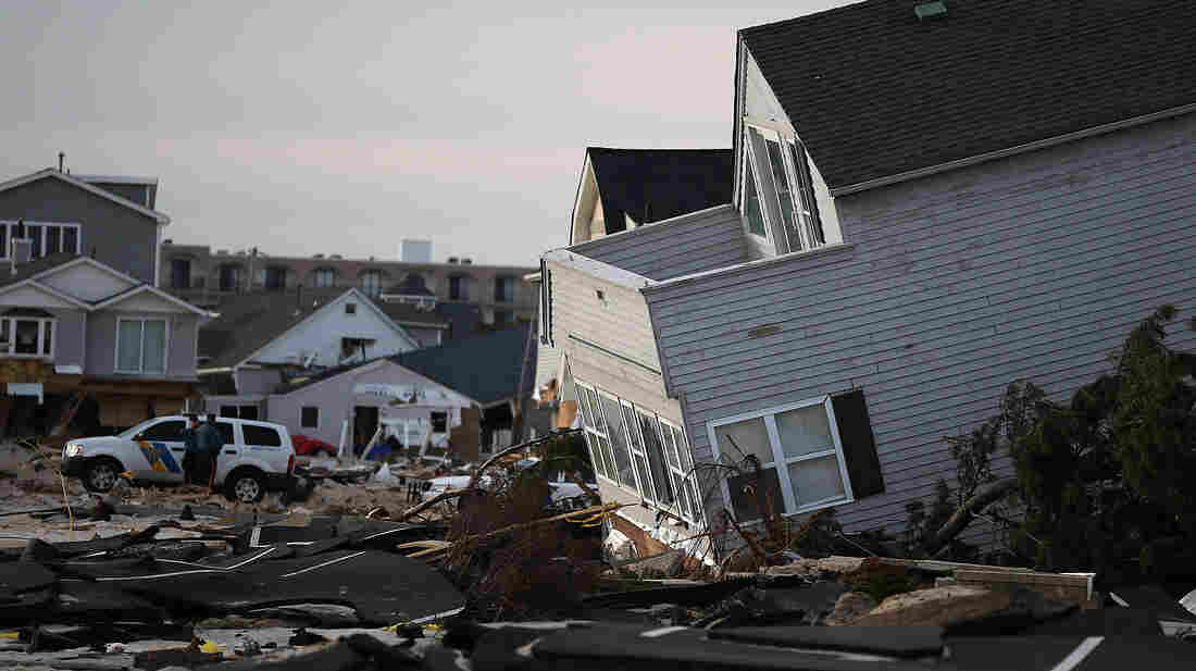 Ortley Beach, N.J.: The aftermath of Superstorm Sandy.