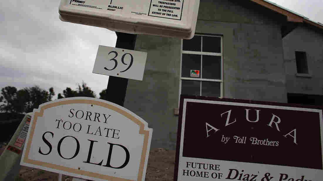 A sold sign at a housing development in Boca Raton, Fla., earlier this month.