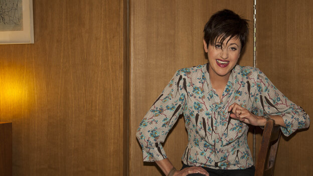 Tracey Thorn, famous for her work in Everything but the Girl, has a new solo album of seasonal tunes called Tinsel and Lights.