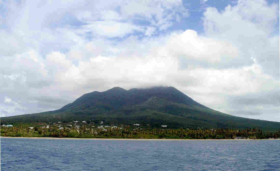 Nevis: Center of global trade.
