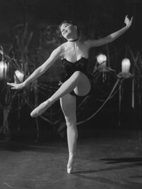Leslie Caron starred in a 1953 production of La Belle au Bois Dormant, or Sleeping Beauty, choreographed by Roland Petit. Caron trained with the Conservatoire de Paris before joining Petit's company, Les Ballets des Champs-Elysées.