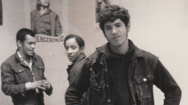 Benjy Melendez (right) founded and led The Ghetto Brothers in the early 1970s. (Courtesy of the artist)