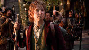 Bilbo Baggins (Martin Freeman) takes a fantastic adventure across Middle-earth in Peter Jackson's prequel to his Lord of the Rings trilogy.