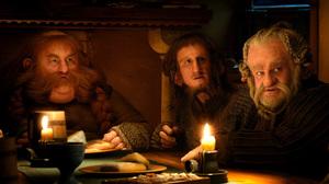 It wouldn't be a Tolkien adventure without dwarfs like Bombur (Stephen Hunter, left), Ori (Adam Brown) and Dori (Mark Hadlow).
