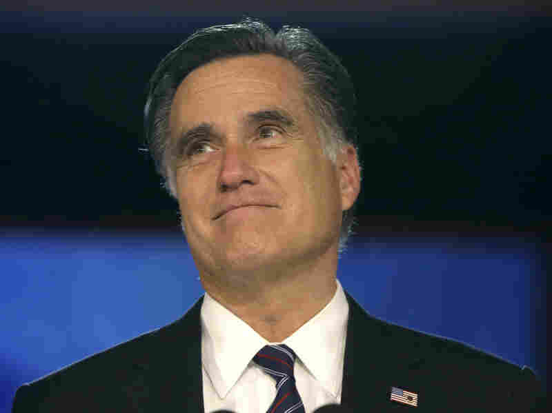 Mitt Romney delivers his concession speech Nov. 7. Though he generally kept quiet about his religion, Romney's candidacy brought Mormonism into the spotlight.