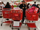 Shoppers at a Target store in Westbury, N.Y., last week. Consumer spending drives the economy. And the holiday shopping season is crucial for retailers.