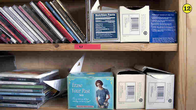 Assorted Teas — The team keeps a selection on hand for artists who play the Tiny Desk, including a handy Erase Your Past blend.