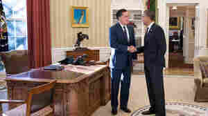 Obama And Romney Have Lunch, Agree To 'Stay In Touch'
