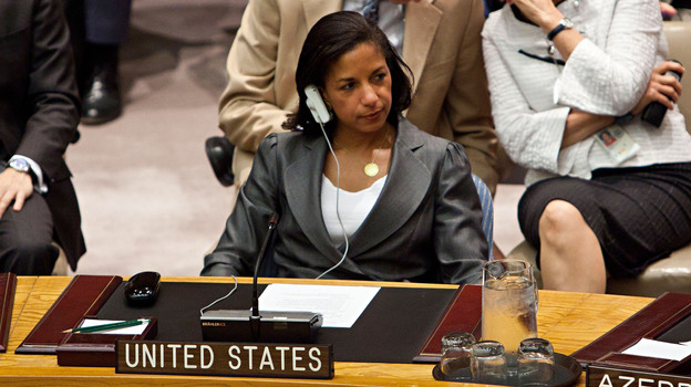 Susan E. Rice, U.S. ambassador to the United Nations, attends a U.N. Security Council meeting in August. (Getty Images)