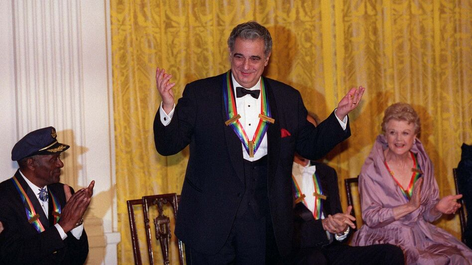 Tenor Placido Domingo was the first Hispanic honoree, receiving the award in 2000. (AFP/Getty Images)