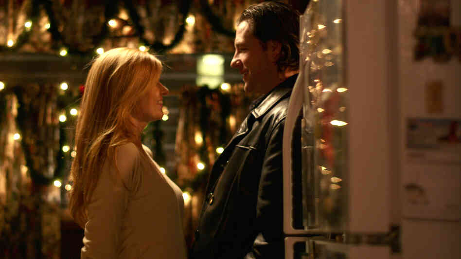 Nora (Connie Britton) and Gerry (Edward Burns) pursue a fledgling romance amid a chaotic holiday homecoming in The Fitzgerald Family Christmas, another home-for-the-awkward-holidays film.