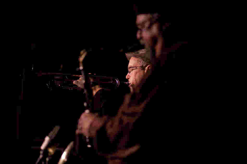Dave Douglas and Joe Lovano started the Sound Prints Quintet after playing together in the SFJAZZ Collective band.