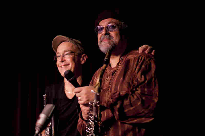 Joe Lovano (right) and Dave Douglas.