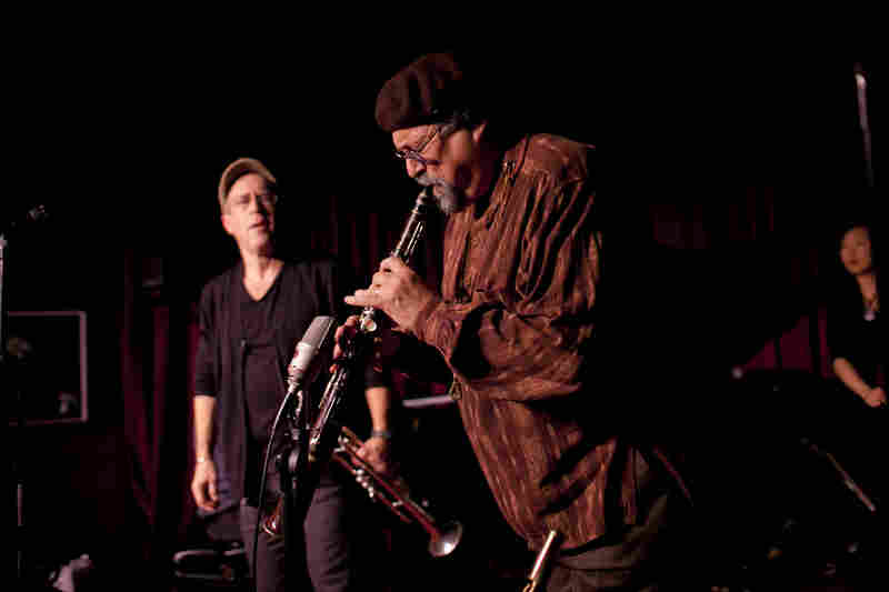Joe Lovano brought his tarogato, a Hungarian clarinet-like instrument.