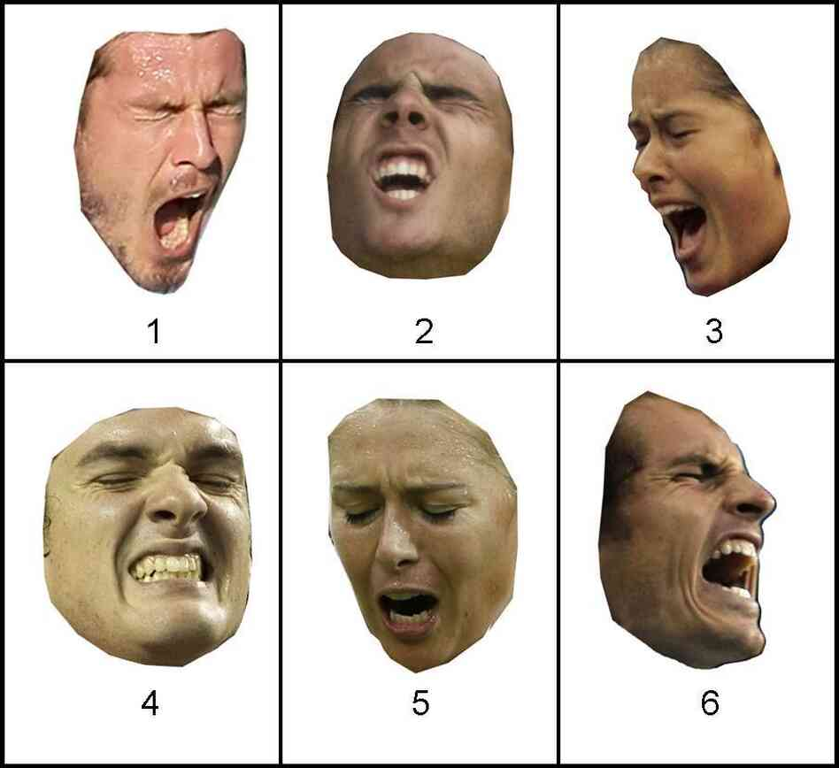Can You Tell Emotion From Faces Alone? A new study suggests that when people evaluated just facial expressions — without cues from the rest of the body — they couldn't tell if the face was showing a positive or negative emotion. Enlarge this photo to see the answers.