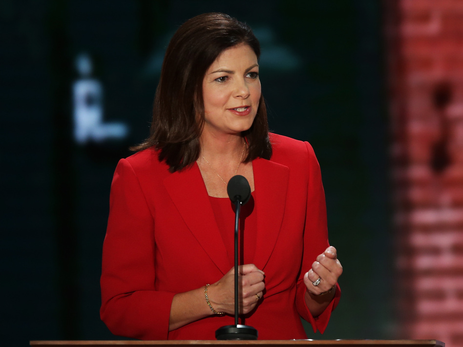 Ayotte speaks at the Republican National Convention in Tampa, Fla., in August. (Getty Images)