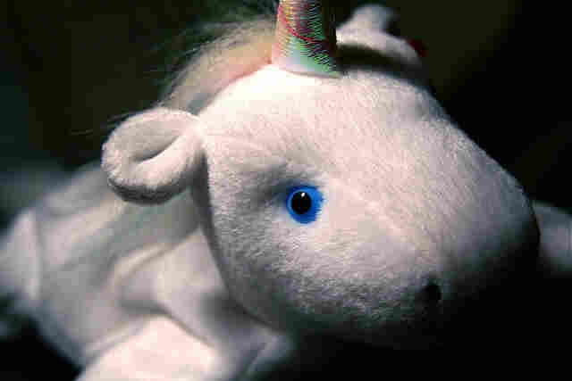There's no word whether the unicorn that lived in the lair was this cute.