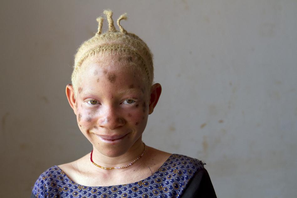 Zawia Kassim, 12, of Kigoma Region, would like to be a teacher someday.