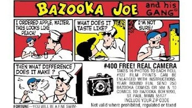 "The latest ""comic of the week"" on Bazooka Bubble Gum's Facebook page. (Bazooka Bubble Gum)"