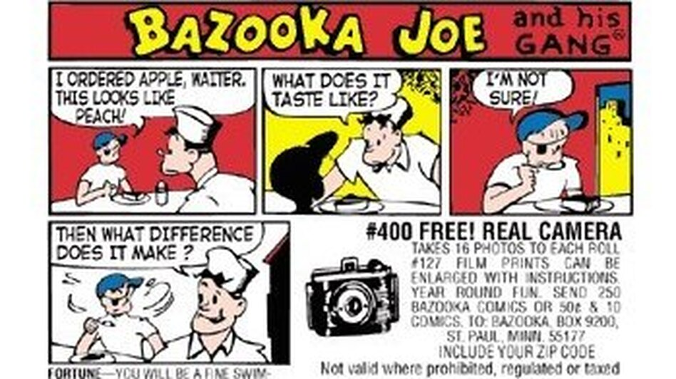 "The latest ""comic of the week"" on Bazooka Bubble Gum's Facebook page. (Bazooka Bubble Gum)"