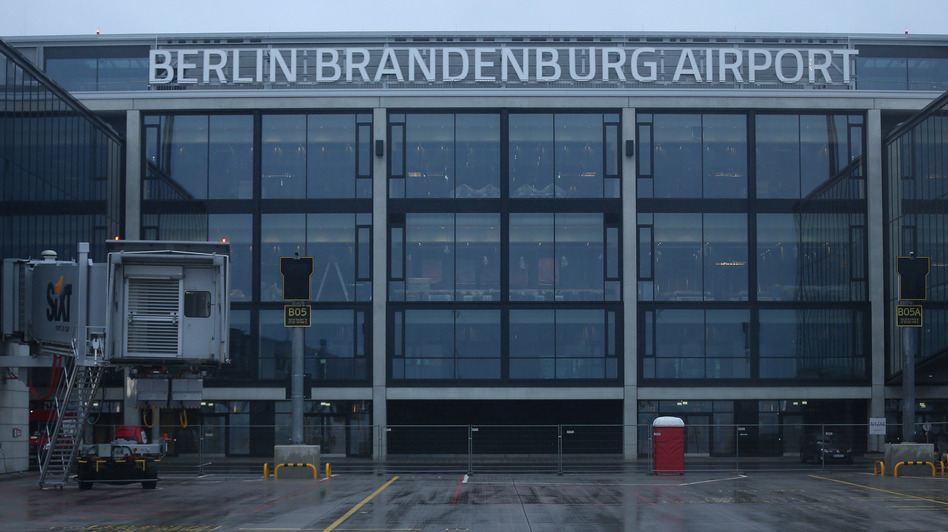 The opening date of Germany's new Willy Brandt Berlin Brandenburg International Airport has been delayed three times due to construction delays and safety concerns. (Getty Images)