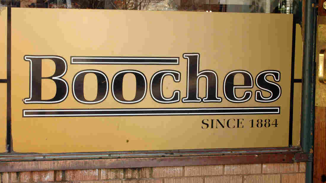 The beloved pool hall/restaurant's famous sign.