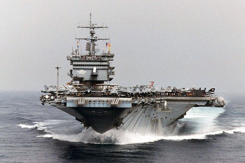 Farewell Uss Enterprise Starred In History And Film Npr