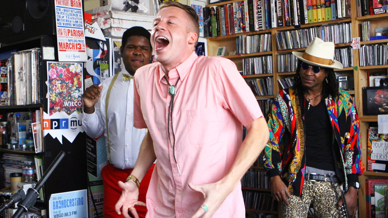 Andrea Echeverri: Macklemore & Ryan Lewis: Tiny Desk Concert : NPR