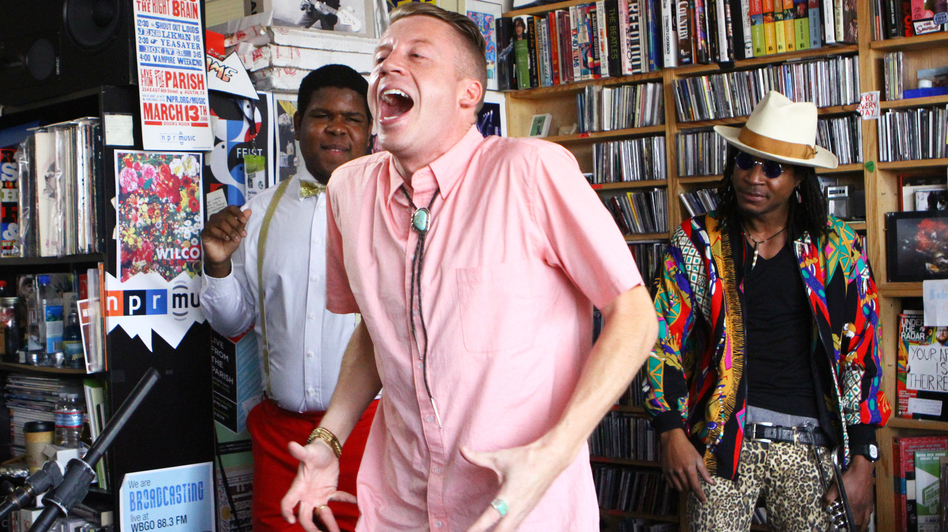 Macklemore & Ryan Lewis Tiny Desk Concert (NPR)