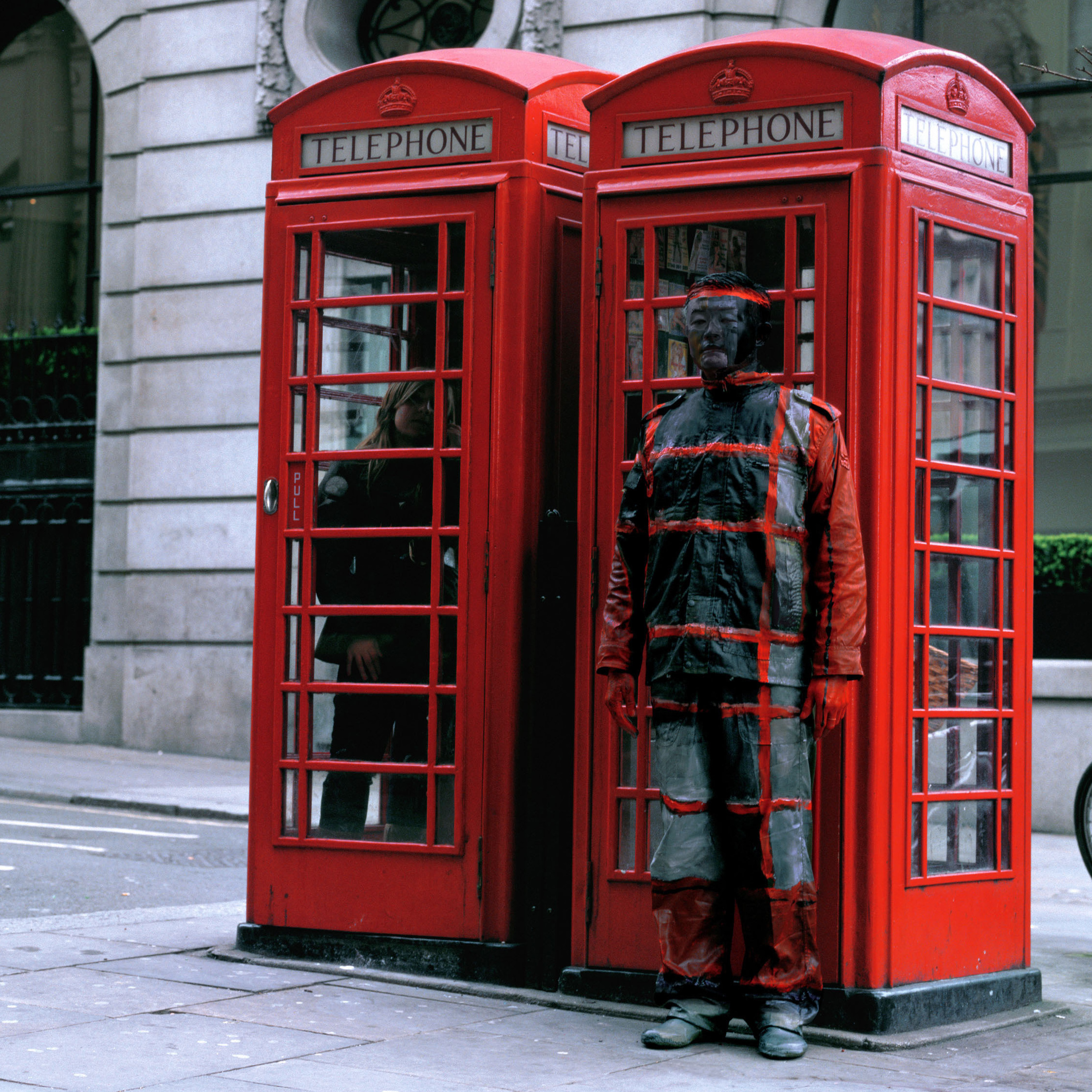 Hiding in the City No. 65 - Telephone Booth, 2008