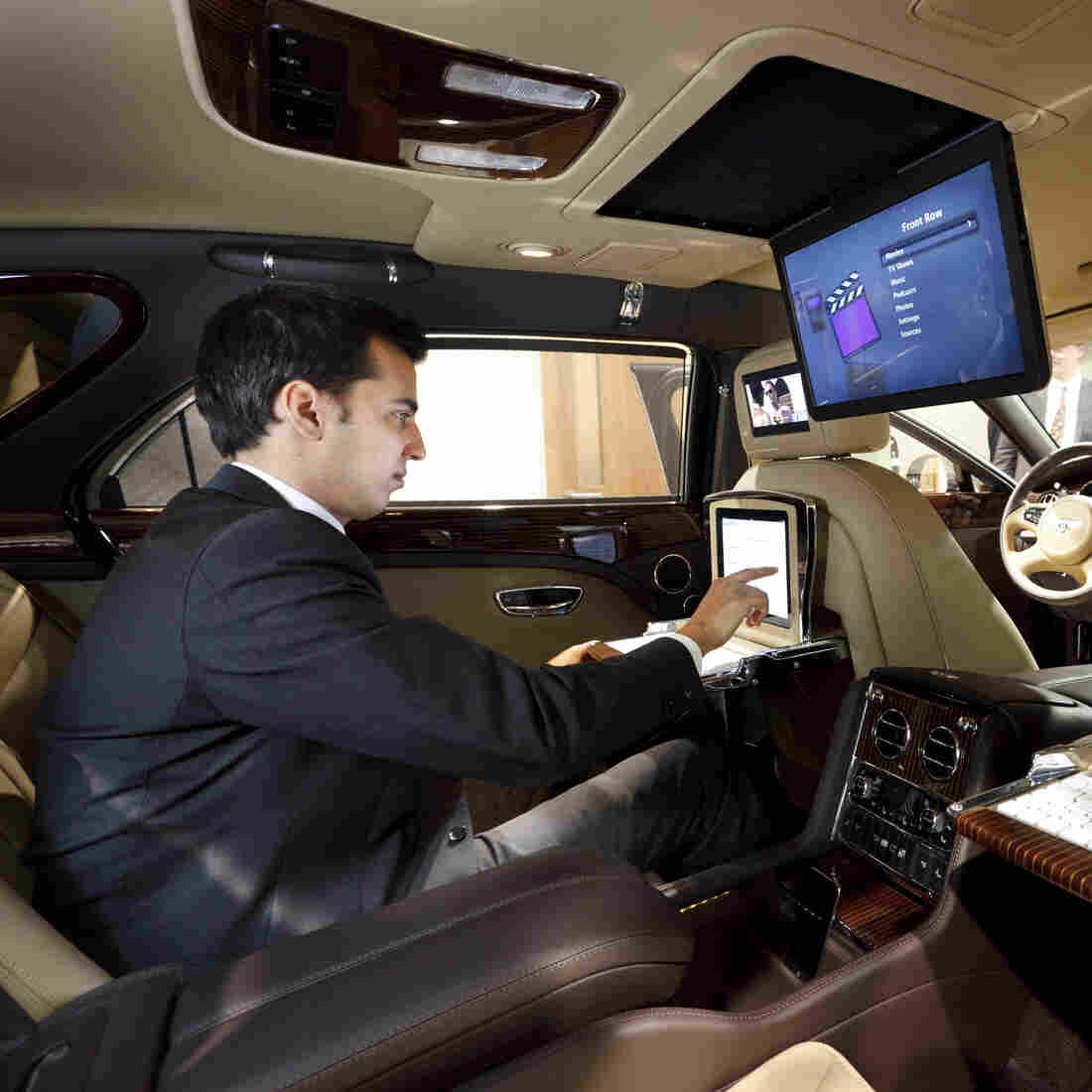 The Next Workplace? Behind The Wheel