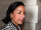 Susan Rice, ambassador to the United Nations, leaves the Capitol after meeting with members of the Senate on Nov. 28, 2012.