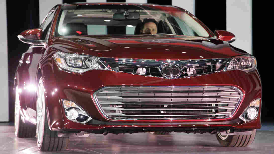 "A Toyota Avalon, the most ""American car,"" according to The National Highway Transportation Safety Administration."