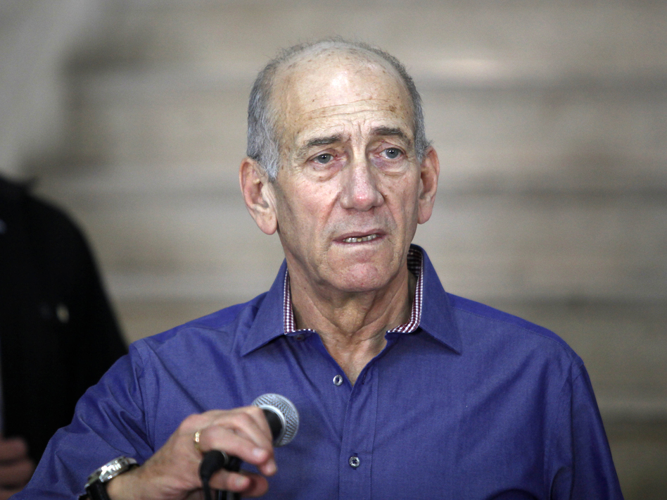 Former Israeli Prime Minister Ehud Olmert diverges from the official Israeli position on the U.N. General Assembly vote last week. (AFP/Getty Images)