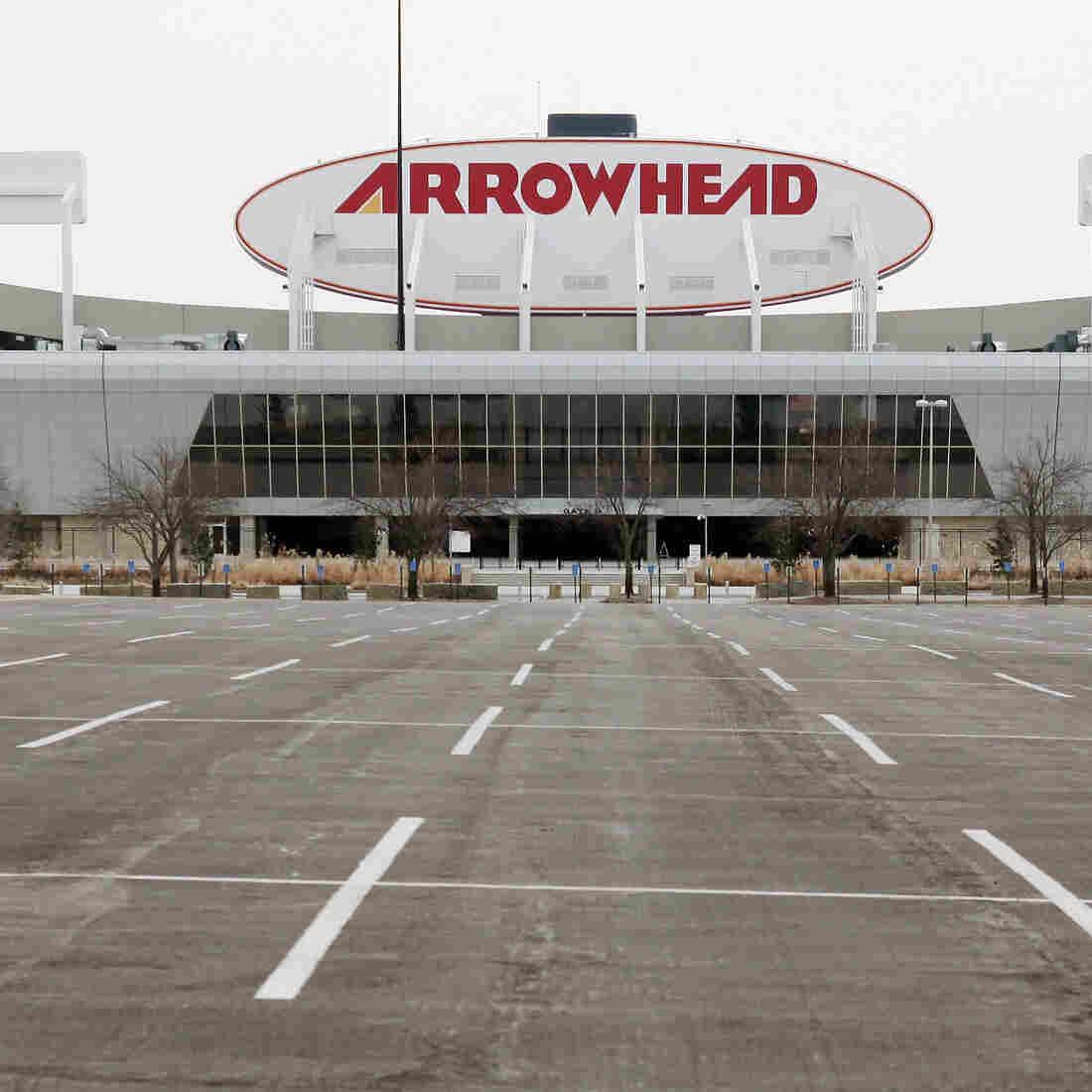 Arrowhead Stadium in Kansas City, Mo.