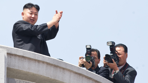 The satirical news source The Onion named North Korean Supreme Leader Kim Jong Un 2012's Sexiest Man Alive. (AFP/Getty Images)