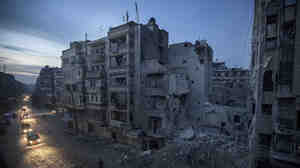 Night falls on a Syrian rebel-controlled area on Thursday, the same day an Internet blackout struck the country. The cause is still unclear, but many claim the Syrian government was responsible.