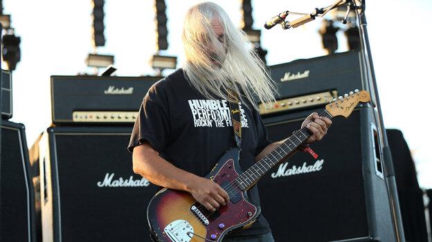 J Mascis of Dinosaur Jr. performing in Los Angeles in September.