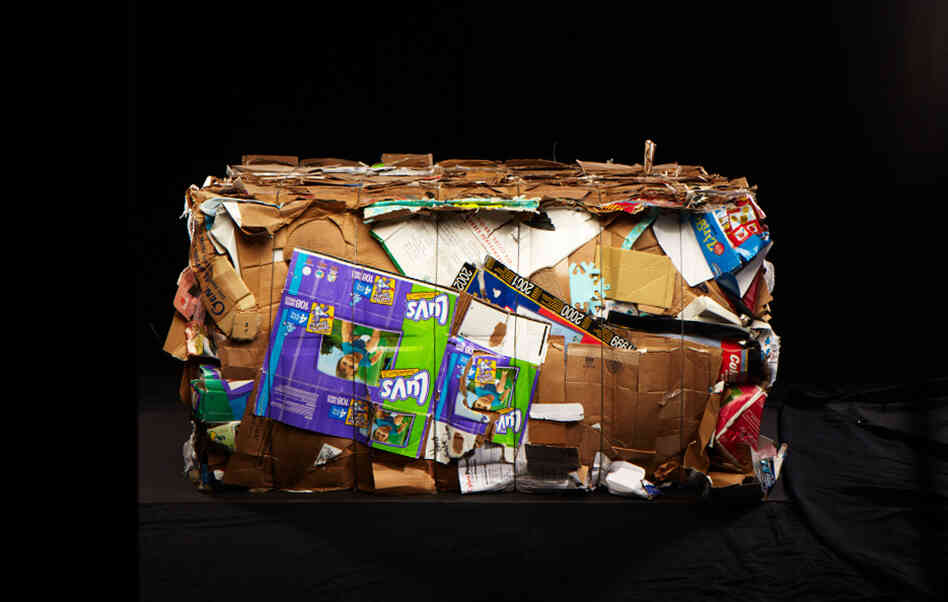 "Photos from the series ""Baled"" by Wesley Law."